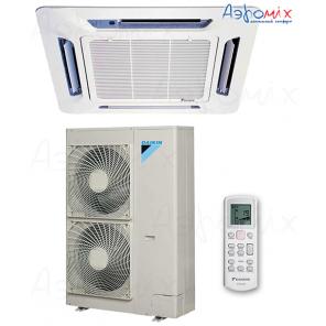 DAIKIN  FCQN100EXV/BYC50EX/RQ100DXY Неинверторная сплит-система кассетного типа