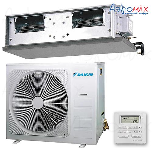DAIKIN  FDMQN35CXV/RYN35CXV Неинверторная сплит-система канального типа