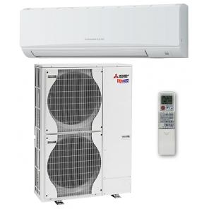 MITSUBISHI ELECTRIC PKA-RP100 KAL /PUHZ-SHW112VHA Инверторная сплит-система настенного типа Zubadan Mr. SLIM (тепловой насос)