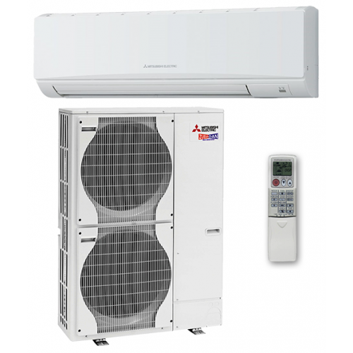MITSUBISHI ELECTRIC  PKA-RP100 KAL /PUHZ-SHW112YHA   Инверторная сплит-система настенного типа  Zubadan   Mr. SLIM (тепловой насос)