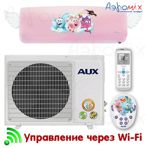AUX  AWG-H09PN/R1DI-W AS-H09/R1DI (c Wi-Fi)  Инверторная сплит-система настенного типа  Kids Inverter
