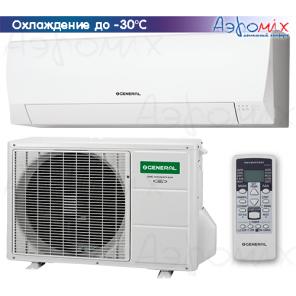 General ASHG07LLCC/AOHG07LLCC-W Инверторные сплит-системы настенного типа  Eco3 Inverter  (зимний комплект -30)