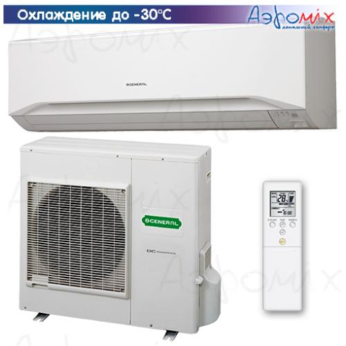 General ASHG30LMTA/AOHG30LMTA-W Инверторные сплит-системы настенного типа  Eco Server (зимний комплект -30)