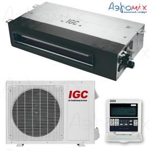 IGC IDХ-18HM/U  Неинверторная сплит-система канального типа