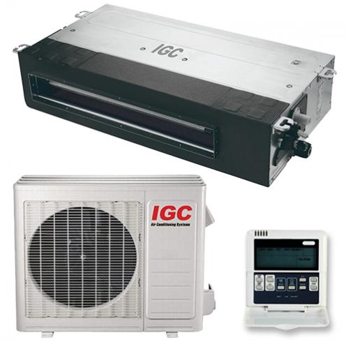 IGC IDХ-24H/U Неинверторная сплит-система канального типа