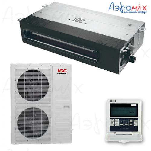 IGC IDХ-60HMS/U  Неинверторная сплит-система канального типа
