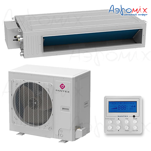 Dantex  RK-60HG3NE-W/RK-60BHG3N  Неинверторная сплит-система канального типа