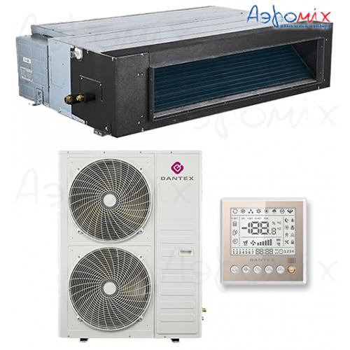 Dantex RK-60HTNE-W/RK-60BHTN  Неинверторная сплит-система канального типа
