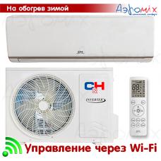 Cooper&Hunter  CH-S09FTXN-E2wf  Инверторная сплит-система настенного типа NORDIC EVO  Wi-Fi  (Тепловой насос)