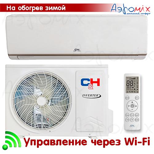 Cooper&Hunter  CH-S12FTXN-E2wf  Инверторная сплит-система настенного типа NORDIC EVO  Wi-Fi  (Тепловой насос)