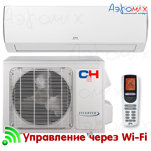 Cooper&Hunter  CH-S24FTXQ  Инверторная сплит-система настенного типа VERITAS  Wi-Fi