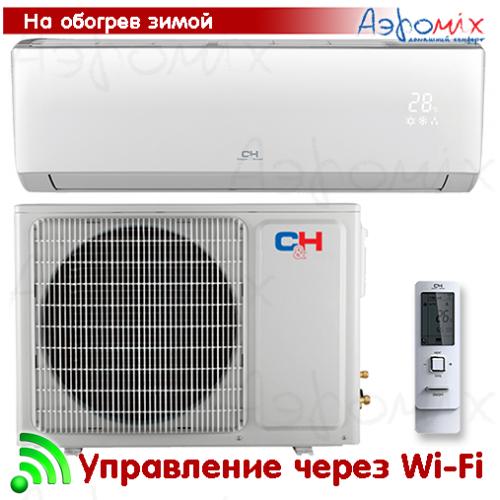 Cooper&Hunter  CH-S24FTXLA-NG  Инверторная сплит-система настенного типа ARCTIC  Wi-Fi  (Тепловой насос)