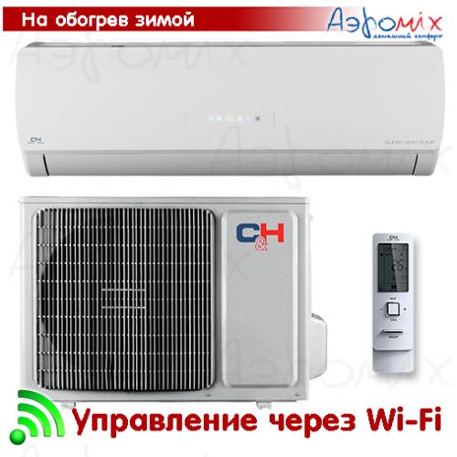Cooper&Hunter  CH-S12FTXTB2S-W  Инверторная сплит-система настенного типа ICY II   Wi-Fi  (Тепловой насос)