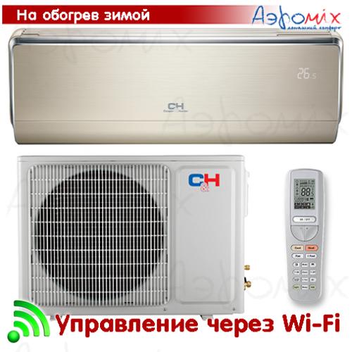 Cooper&Hunter  CH-S12FTXHV-B Инверторная сплит-система настенного типа  VIP Wi-Fi  (Тепловой насос)
