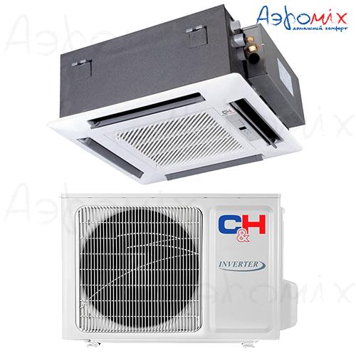 Cooper&Hunter  CH-IC12NK4/CH-IU12NK4  Инверторная сплит-система кассетного типа