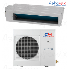 Cooper&Hunter  CH-IDH100PRK/CH-IU100RM  Инверторная сплит-система канального типа Nordic Commercial