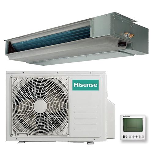 HISENSE AUD-12HX4SNL/AUW-12H4SV Неинверторная сплит-система канального типа