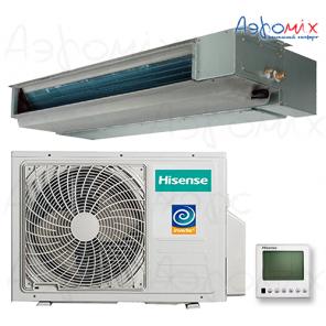 HISENSE   AUD-18UX4SKL2/AUW-18U4SS  Инверторная сплит-система канального типа