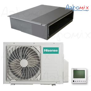 HISENSE  AUD-36HX4SHH1/AUW-36H6SD     Неинверторная сплит-система канального типа