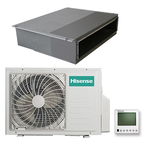 HISENSE  AUD-24HX4SLH1 /AUW-24H4SF   Неинверторная сплит-система канального типа