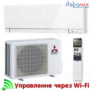 MITSUBISHI ELECTRIC  MSZ-EF35VGKW/MUZ-EF35VG   Инверторная сплит-система настенного типа  Wi-Fi
