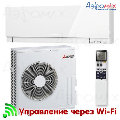 MITSUBISHI ELECTRIC   MSZ-EF50VGKW/MUZ-EF50VG  Инверторная сплит-система настенного типа  Wi-Fi