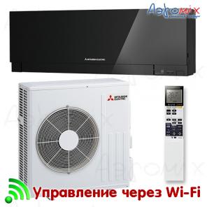 MITSUBISHI ELECTRIC   MSZ-EF50VGKB/MUZ-EF50VG  Инверторная сплит-система настенного типа  Wi-Fi