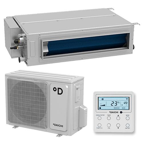 Daichi DAT70ALMS1/DFT70ALS1 Инверторная сплит-система канального типа MSP