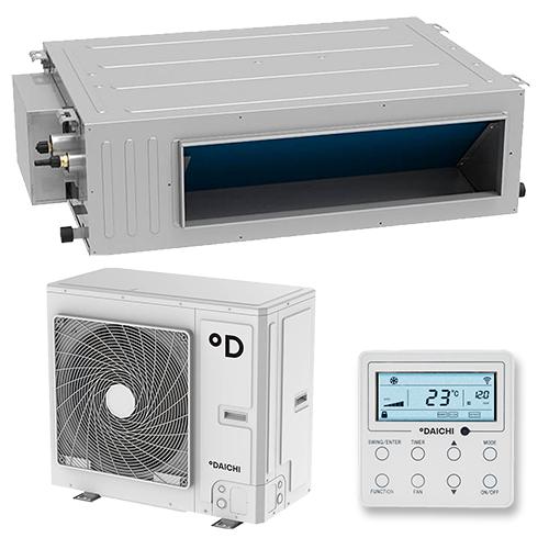 Daichi DA140ALHS1R/DF140ALS3R Инверторная сплит-система канального типа HSP