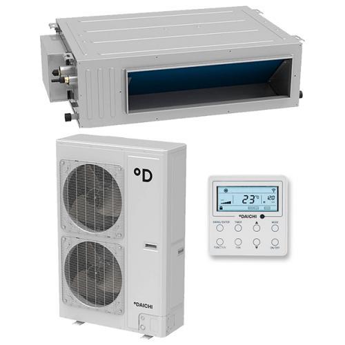Daichi DA160ALHS1R/DF160ALS3R Инверторная сплит-система канального типа HSP