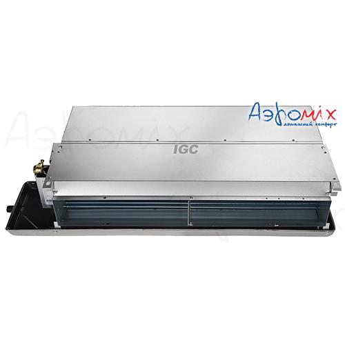 IGC  IWF-X800D22M50   Канальные двухтрубные 2-х рядные фaнкойлы, средненапорные (50 Па)