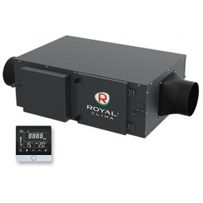 ROYAL CLIMA RCV-500 + EH-1700 Приточная установка VENTO